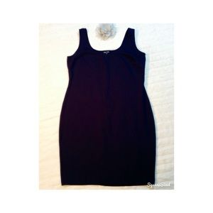 1f2a6063409 CITY CHIC BLACK SHEATH TANK STRETCH FABRIC DRESS